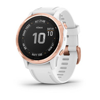Garmin Fenix 6S Pro Rose Gold/White Band