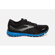 brooks ghost 13 - black/grey/blue