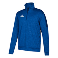 adidas team issue men's 1/4 zip