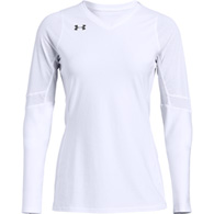 under armour powerhouse l/s youth jersey