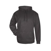badger line embossed hood
