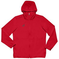 asics stretch woven men's track top