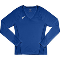 asics spin serve l/s youth jersey
