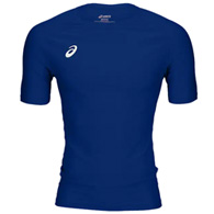 asics compression 1/2 sleeve men's top
