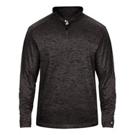 badger toanl blend youth 1/4 zip