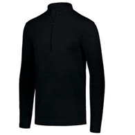 holloway striated men's 1/2 zip pullover