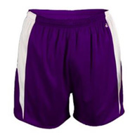 badger stride youth short