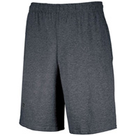 russell basic cotton pocket shorts