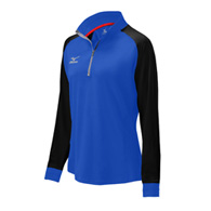 mizuno elite 9 prime youth 1/2 zip
