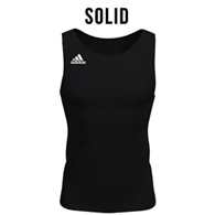 adidas custom men's compression singlet
