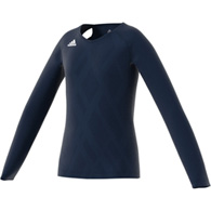 adidas quickset l/s youth jersey