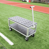 aae aluminum multi-implement cart