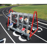 universal starting block cart