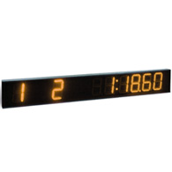 led single line scoreboard (amber)