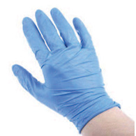 nitrile gloves (100 box)