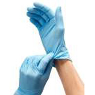 exam grade nitrile gloves