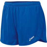 asics rival 1/2 split short women's