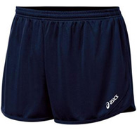 asics rival ii 1/2 split men's short