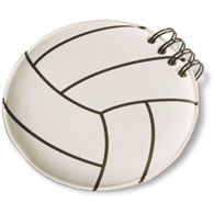 volleyball note pad