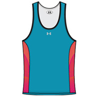 ua armourfuse womens compression singlet