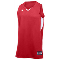 ua fury women's basketball jersey